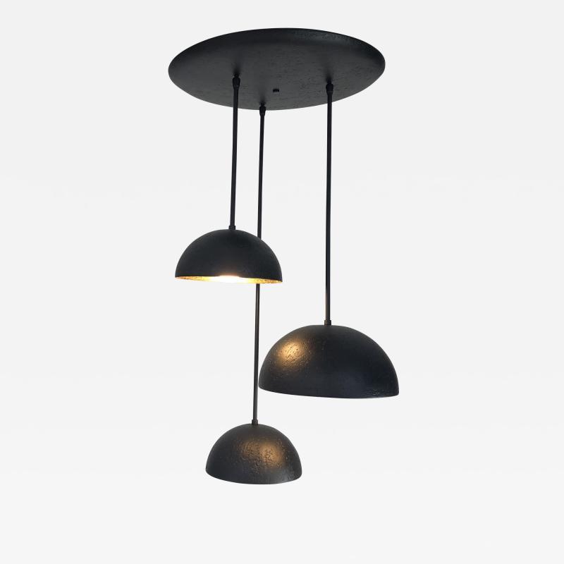 Bourgeois Boheme Atelier St Germain Trio Matte Black Plaster of Paris