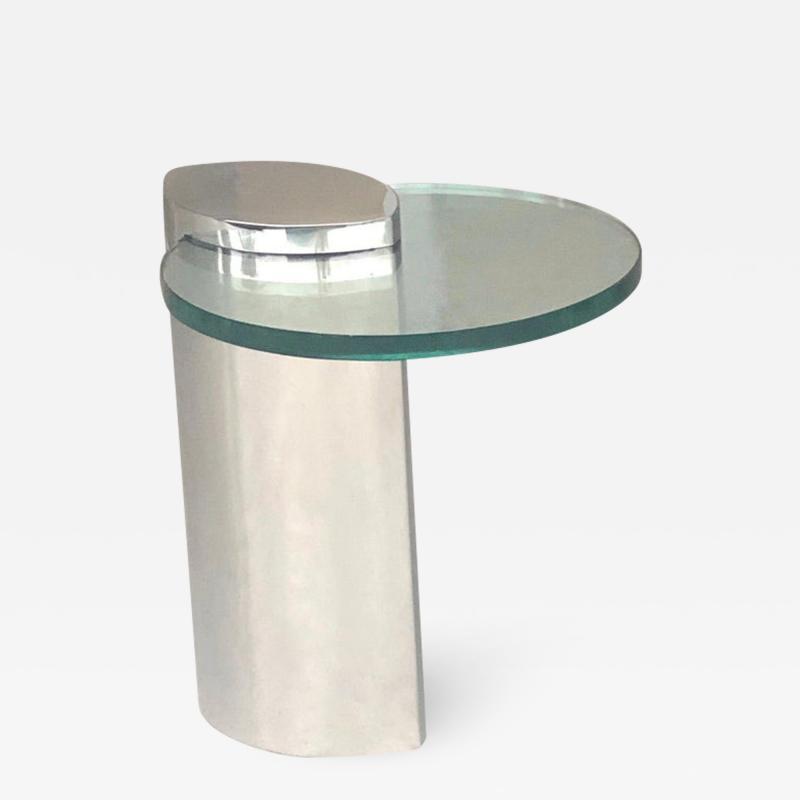Brueton Brueton Mirror Polished Modernist Minimalist Side Drink Table