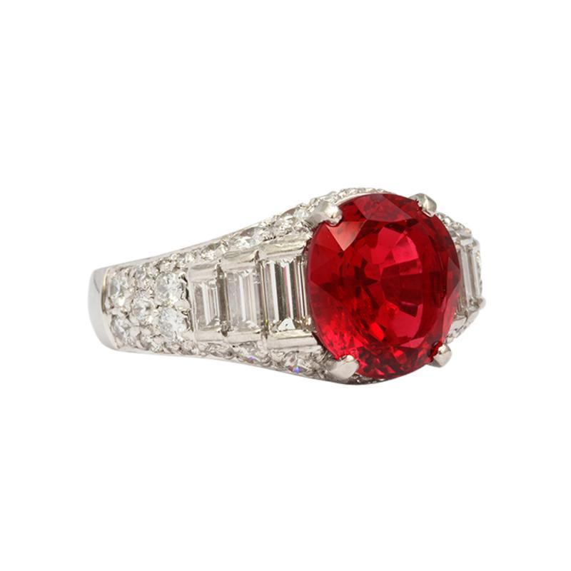 Bulgari Bulgari Spinel Diamond Ring