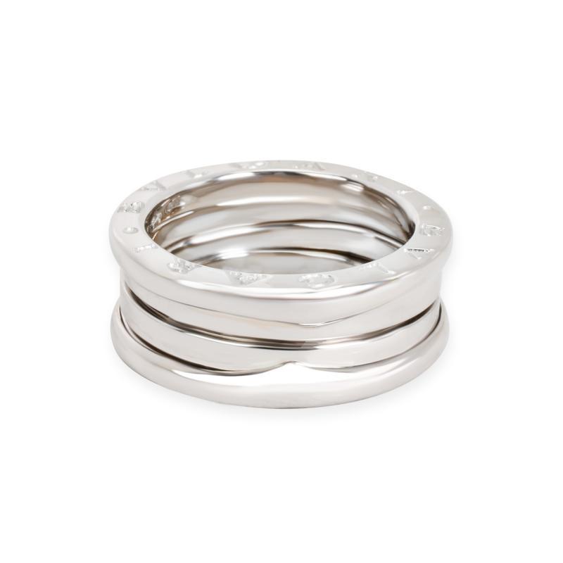Bvlgari Bulgari Bulgari B Zero One Ring in 18K White Gold