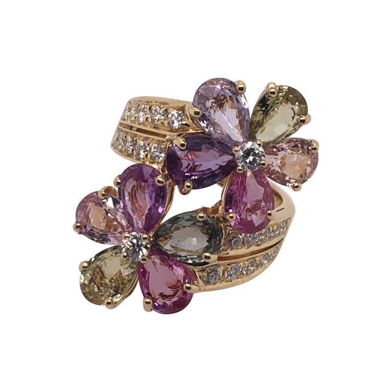 Bvlgari Bulgari Bulgari sapphire diamond ring