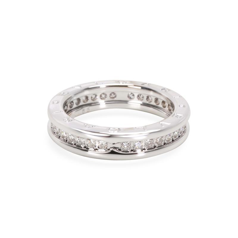 Bvlgari Bulgari Bvlgari B Zero Diamond Ring in 18K White Gold 1 CTW