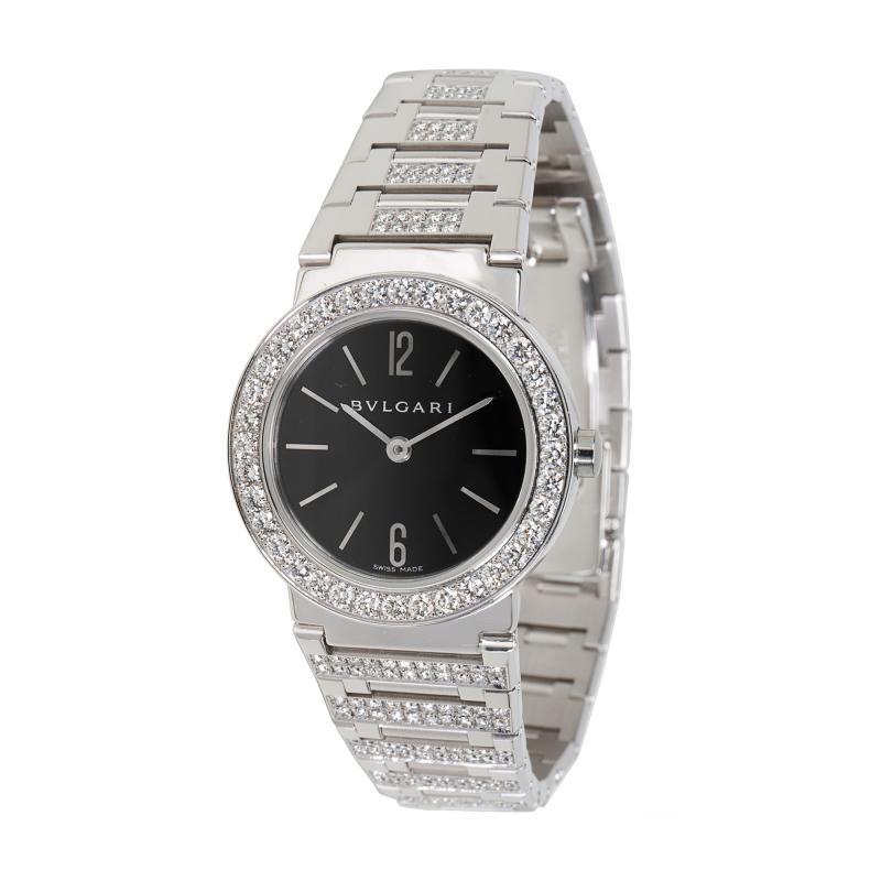 Bvlgari Bulgari Bvlgari BBW26BGDGD Womens Diamond Watch in 18kt White Gold 2 12 CTW