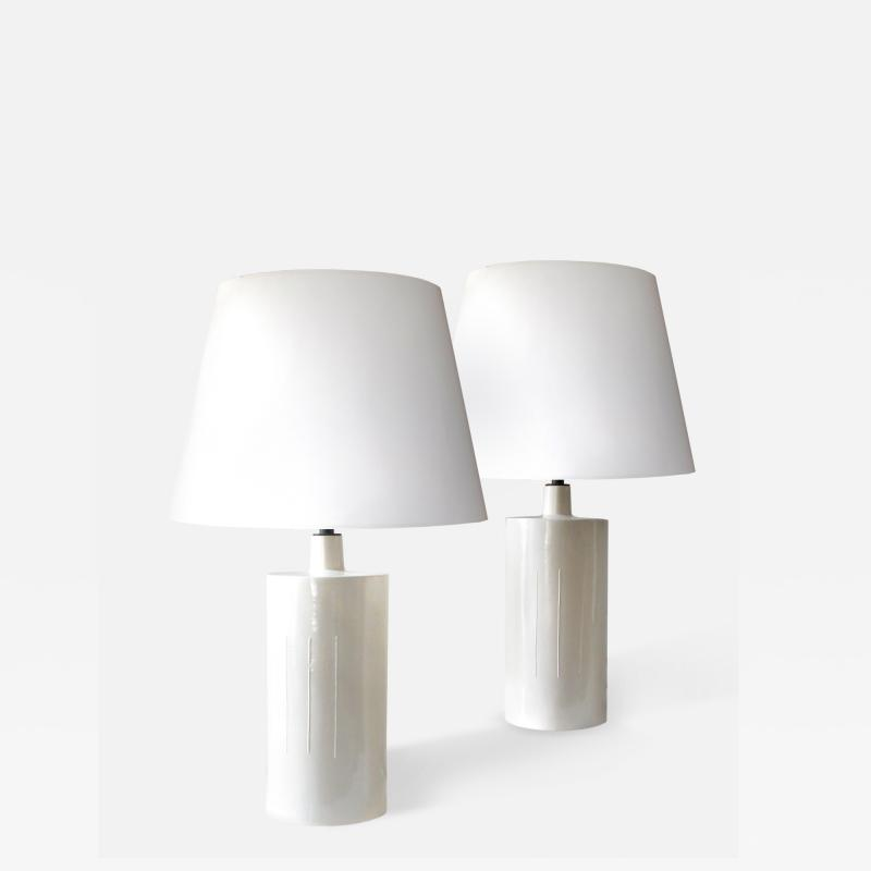 C J Peters Ceramic Lamps