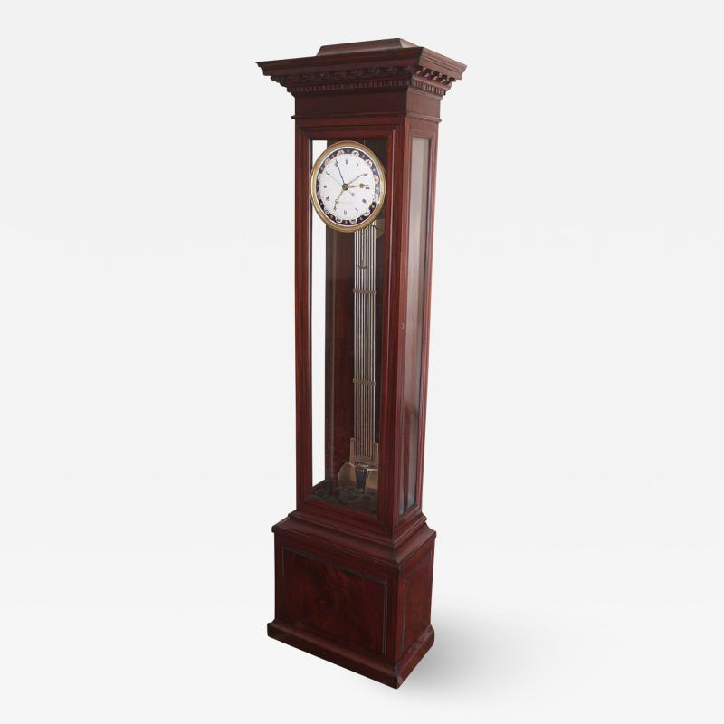 Cardinaux Paris French Floor Standing 30 day Regulator with Equation of Time and Coteau Dial