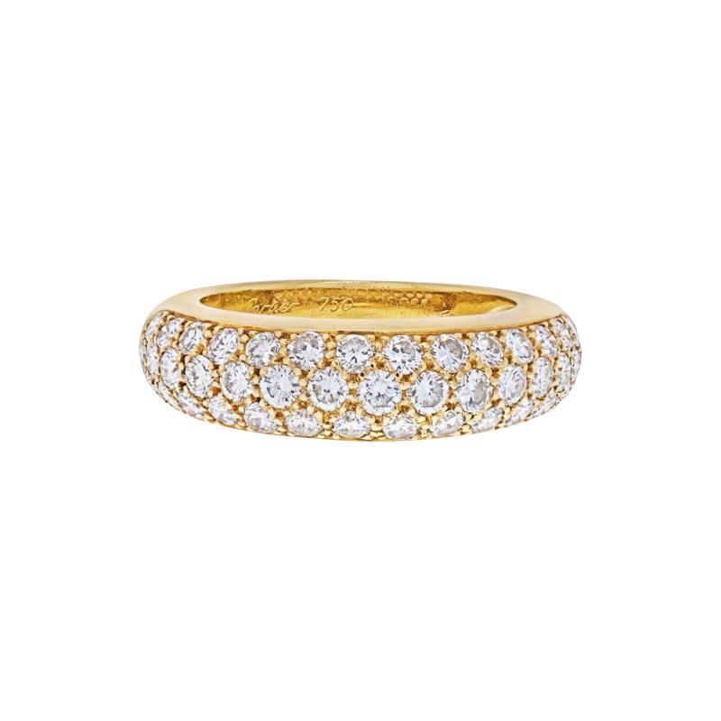 Cartier CARTIER 18K YELLOW GOLD ETINCELLE DIAMOND RING