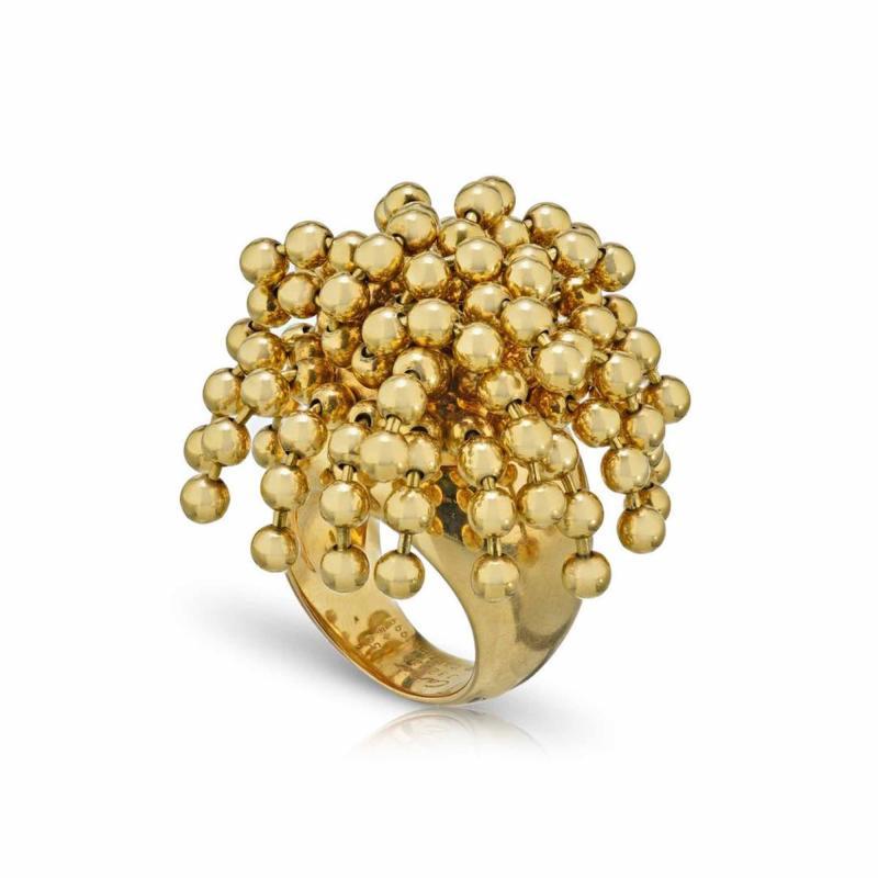 Cartier CARTIER PARIS NOUVELLE VAGUE 18K YELLOW GOLD BEAD RING