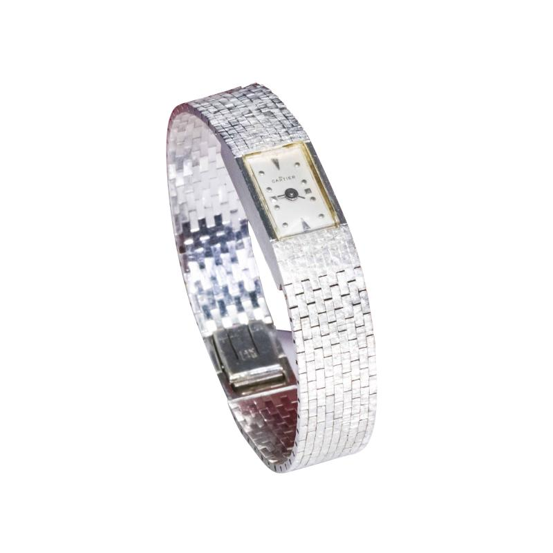 Cartier Cartier 1960s Two Tone Bracelet watch