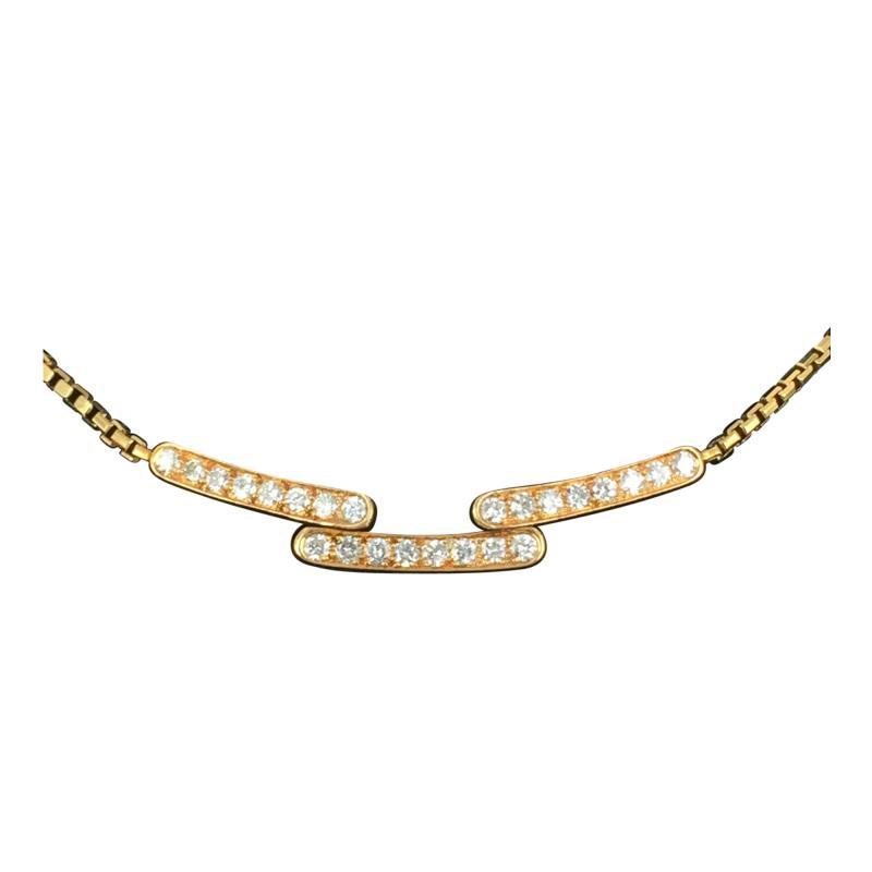 Cartier Cartier Diamond and Gold Necklace