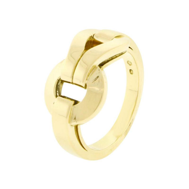 Cartier Cartier Gold Agrafe Ring