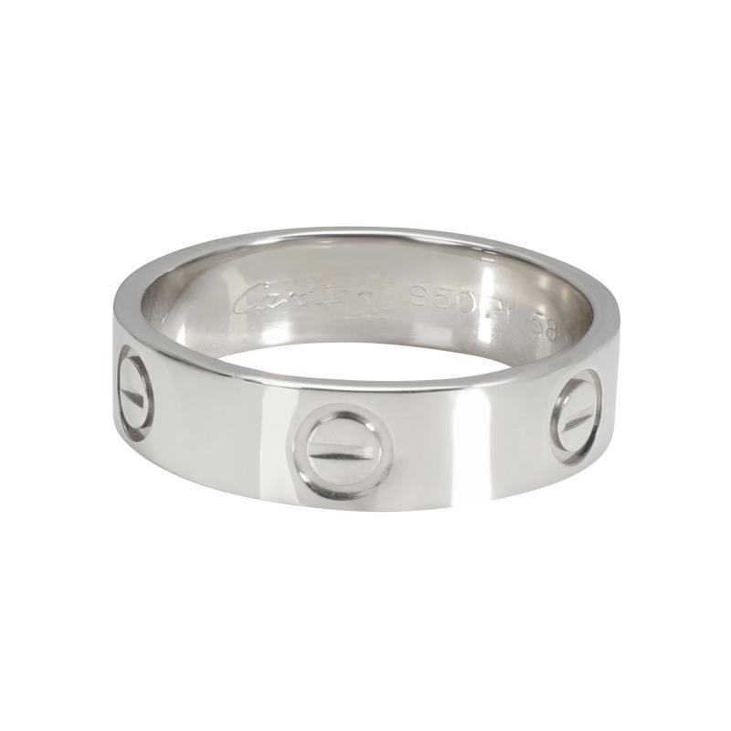 Cartier Cartier LOVE Ring in Platinum