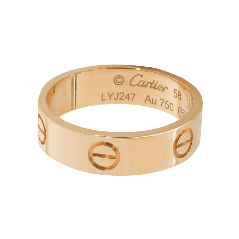 Cartier Cartier Love Ring in 18K Yellow Gold