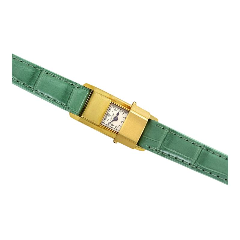 Cartier Cartier Retro Gold Concealed Dial Wrist Watch