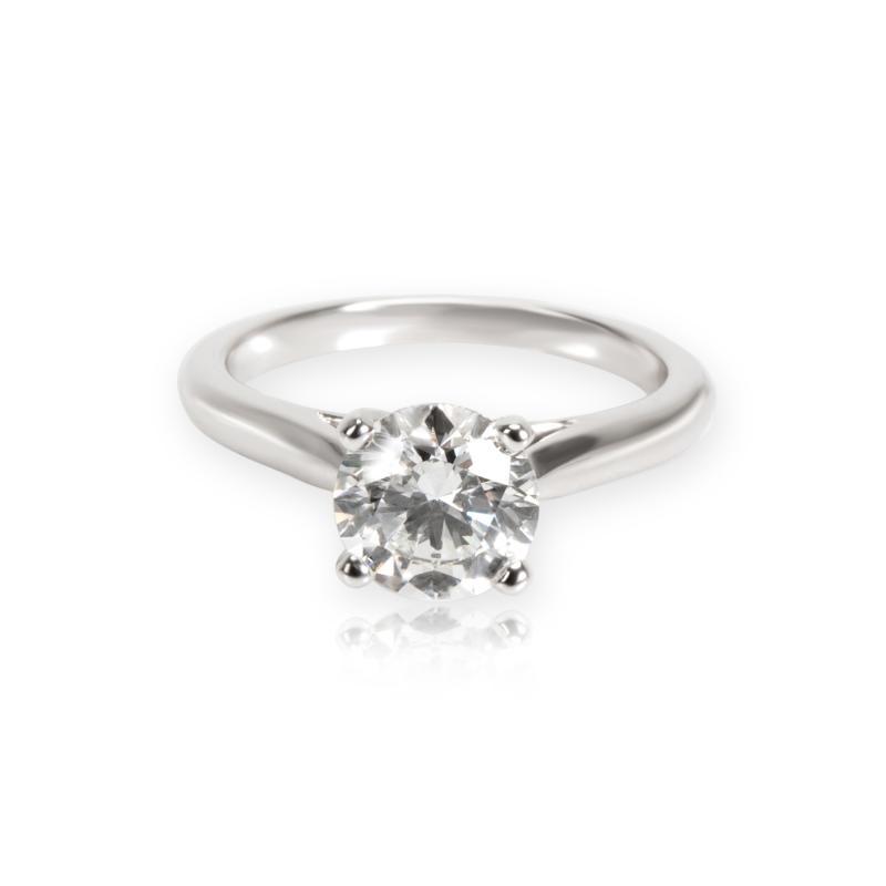 Cartier Cartier Solitaire 1895 Diamond Engagement Ring in Platinum G VVS2 1 31 CTW