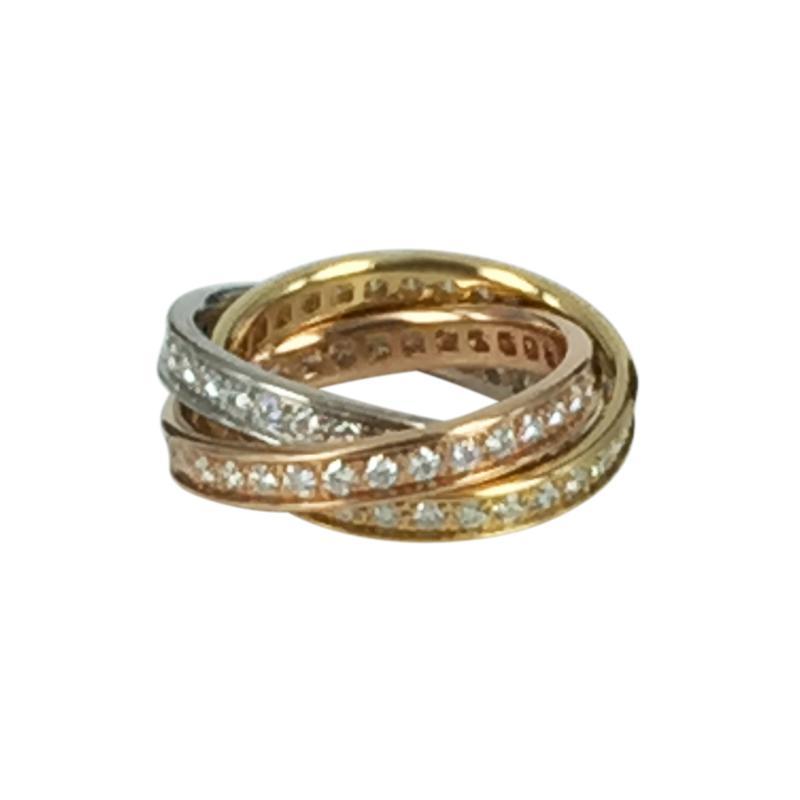 Cartier Cartier Trinity Ring with Diamonds