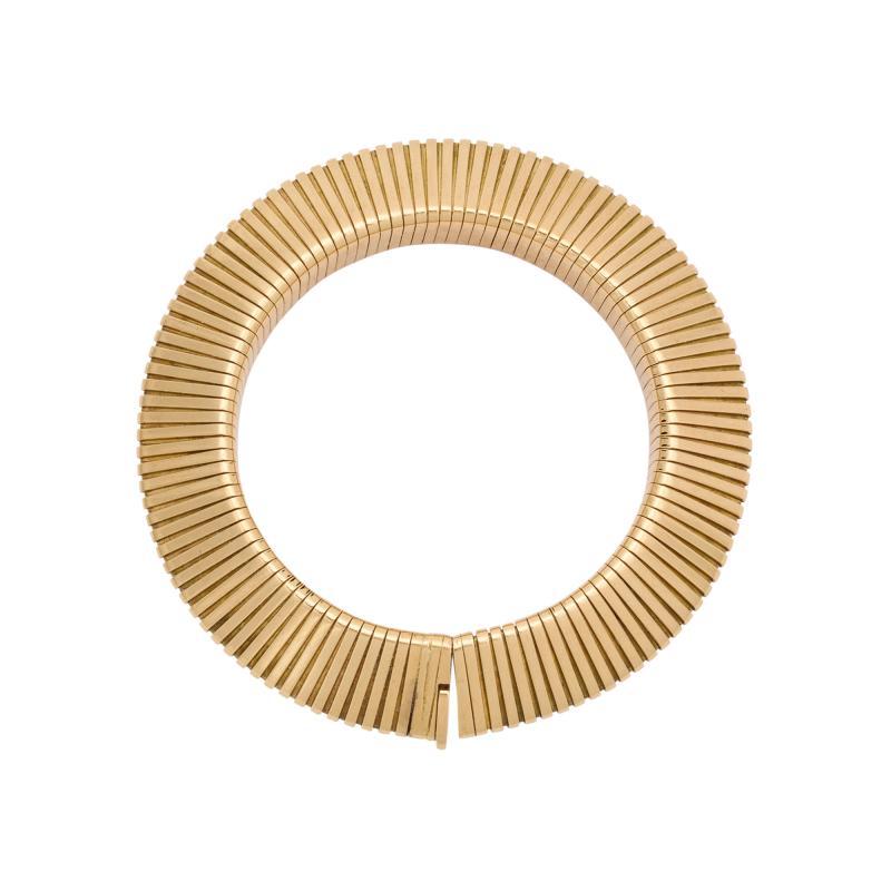 Cartier Retro Cartier Gold Gaspipe Bracelet