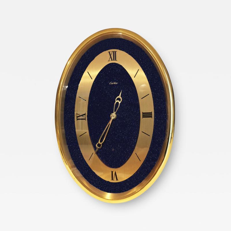 Cartier Vintage Cartier Oval Table Clock