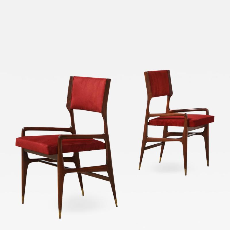 Cassina 12 x Model 676 Dining Chairs by Gio Ponti for Cassina