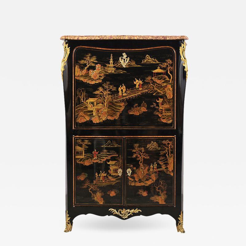 Castle Antiques Design Antique French Louis XVI Chinoiserie style Secretaire