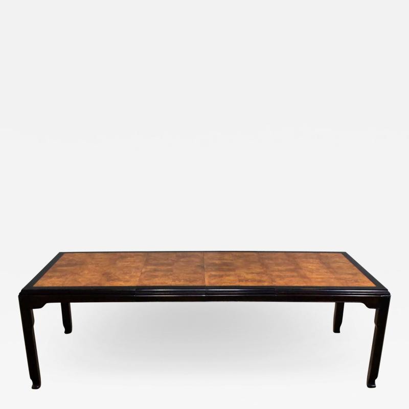 Century Furniture Vintage chinoiserie hollywood regency chin hua dining table by raymond k sobota