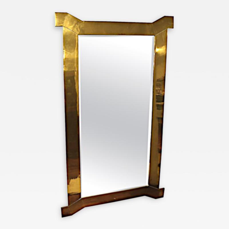 Chapman Mfg Co Custom Solid Brass Mirror by Chapman