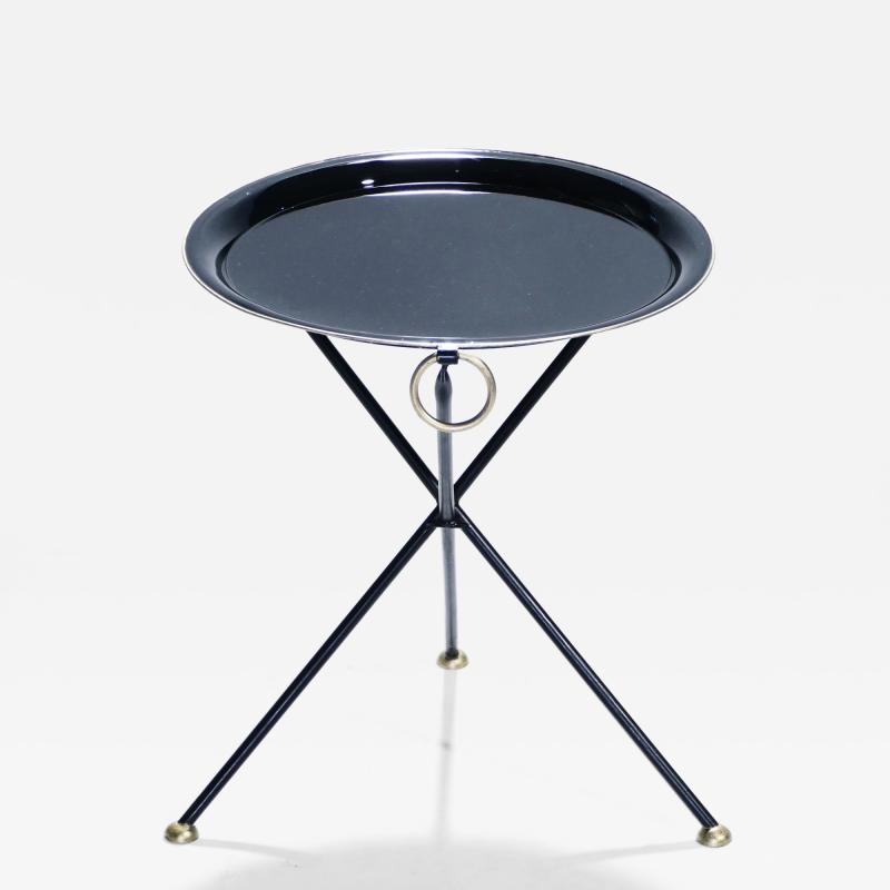 Christian Dior Signed Christian Dior folding side table 1970 s