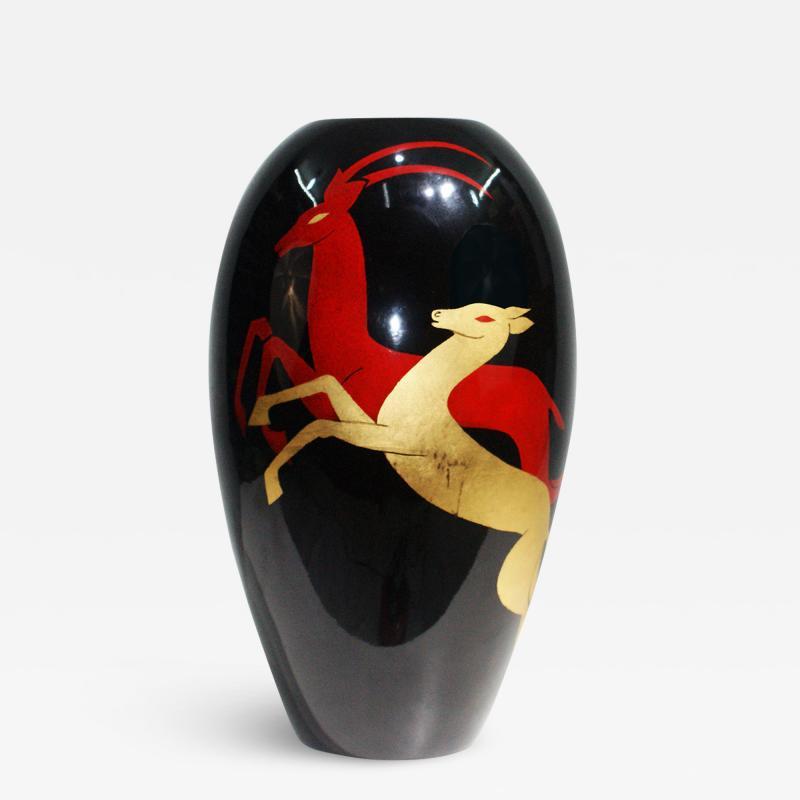 Christian Dior Stunning Vase Signed by Bonega Paris and Christian Dior