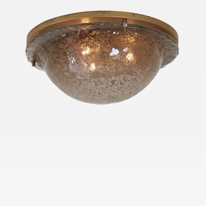 Cosack Leuchten Impressive Flush Mount with Frosted Glass by Cosack Leuchten Germany 1970s