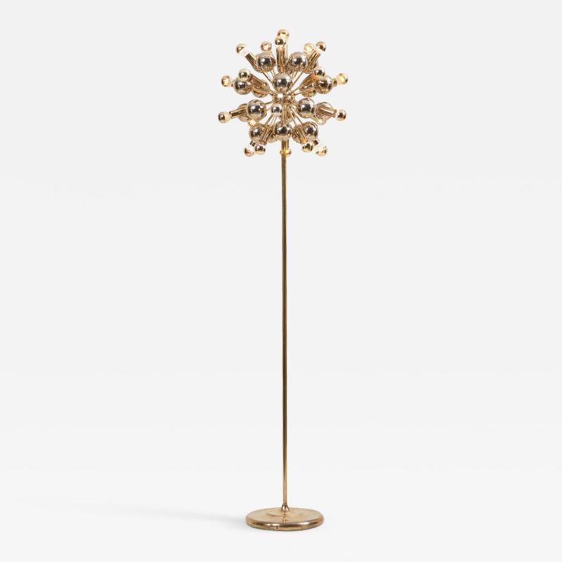 Cosack Leuchten Sputnik Floor Lamp in Brass by Cosack Leuchten Germany
