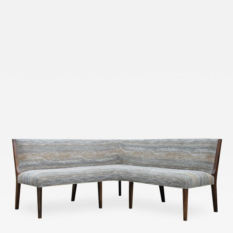 Costantini Design Contemporary Custom Made Carina Dining Booth in Fabric from Costantini