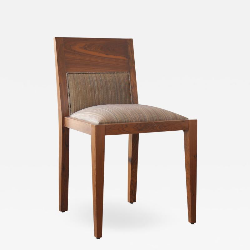 Costantini Design Contemporary Palermo Hollywood Wood Upholstered Dining Chair from Costantini