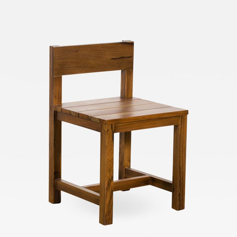 Costantini Design Exotic Solid Wood Outdoor Modern Dining Chair from Costantini Serrano