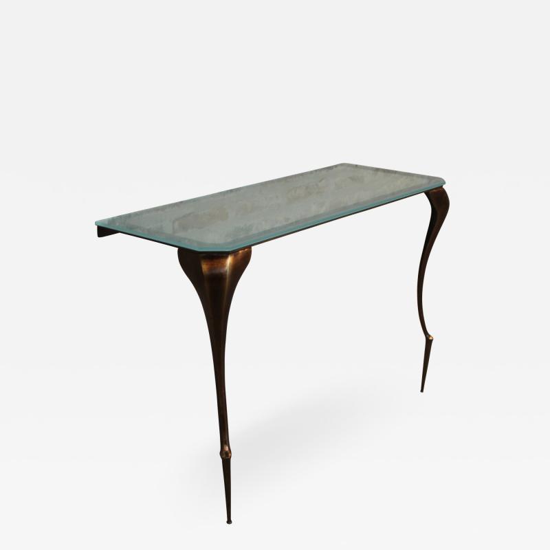 Costantini Design Lychorinda Cast Bronze Console Table from Costantini