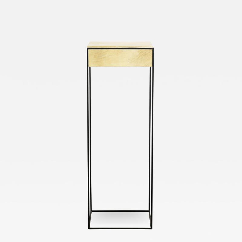 Costantini Design Marcello Side Table in Parchment from Costantini
