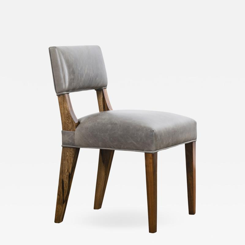 Costantini Design Modern Dining Chair in Argentine Exotic Wood and Leather from Costantini Bruno