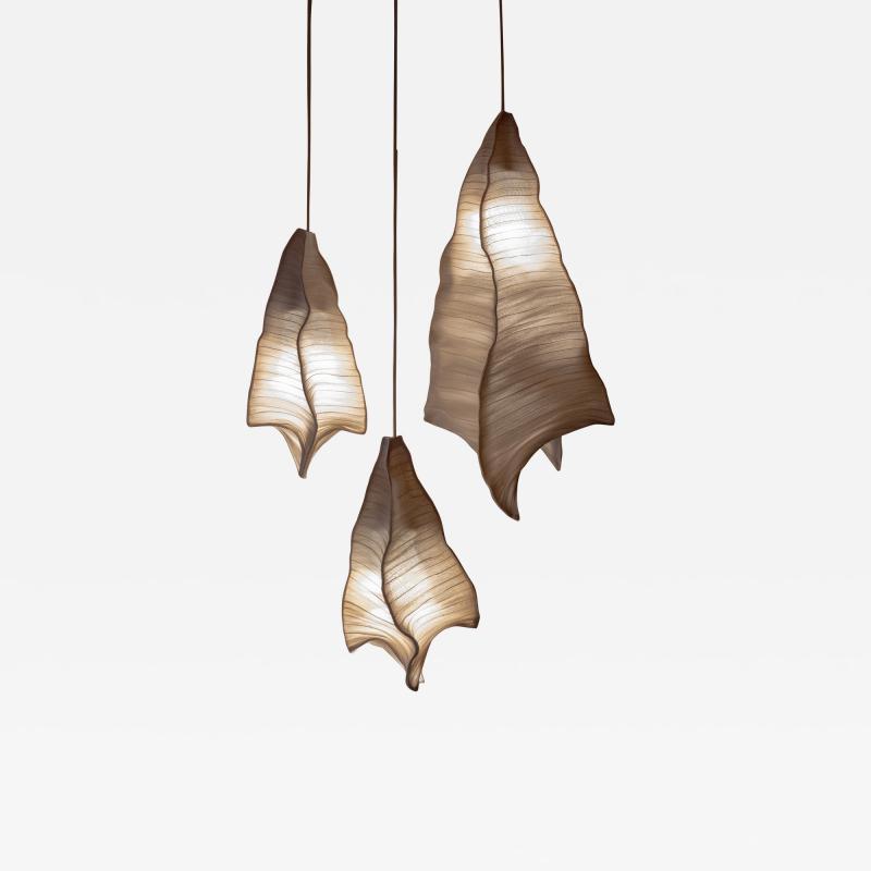 Costantini Design Modern Fabric Pendant Light Phantasma from Studio Mirei In Stock