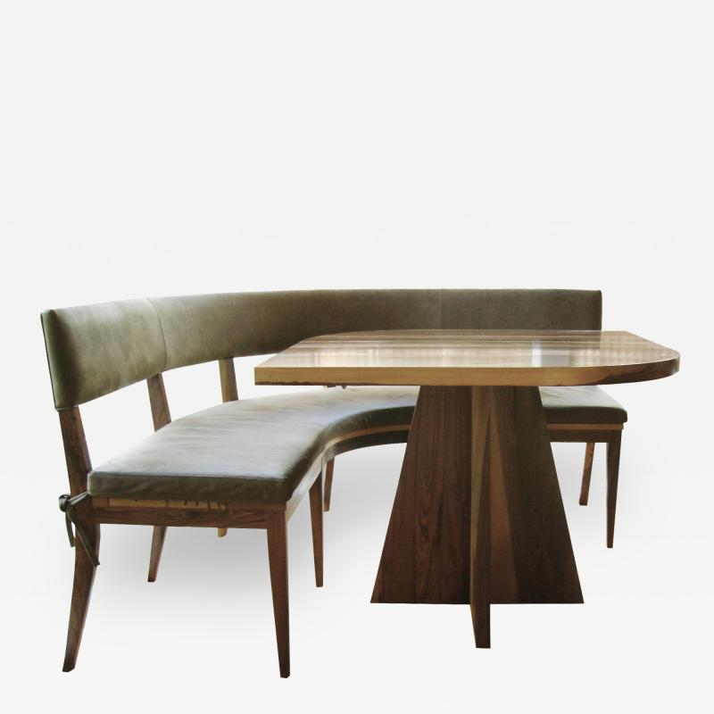 Costantini Design Neto Booth in Argentine Rosewood from Costantini