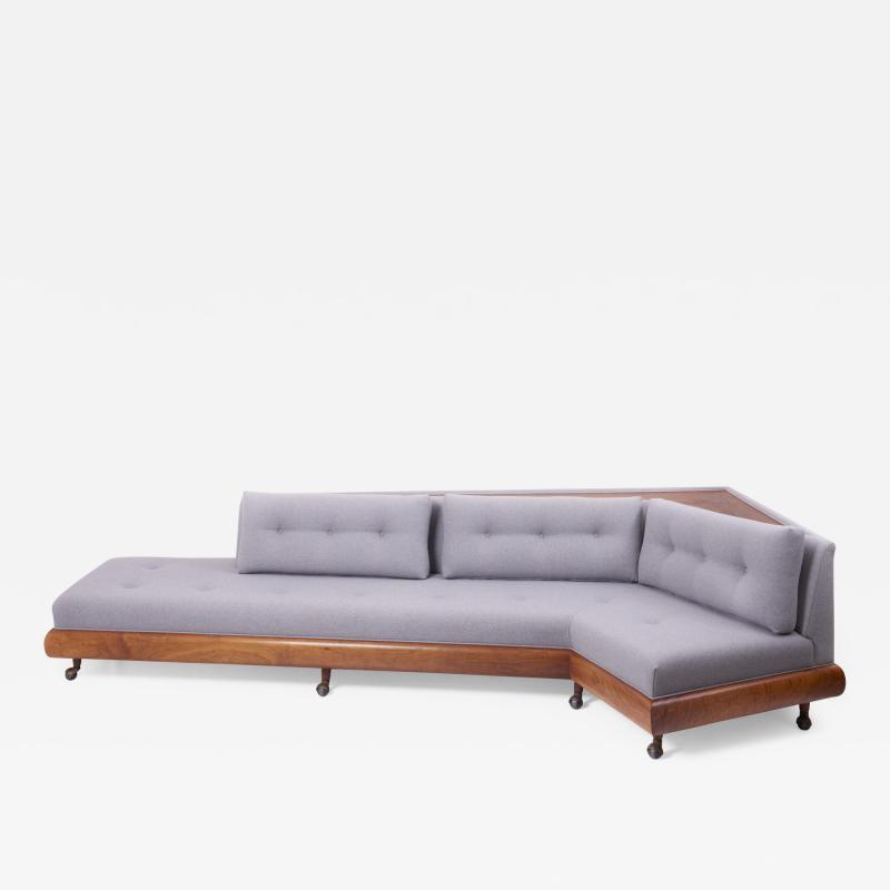 Craft Associates Adrian Pearsall Boomerang Sofa for Craft Associates USA 1960s