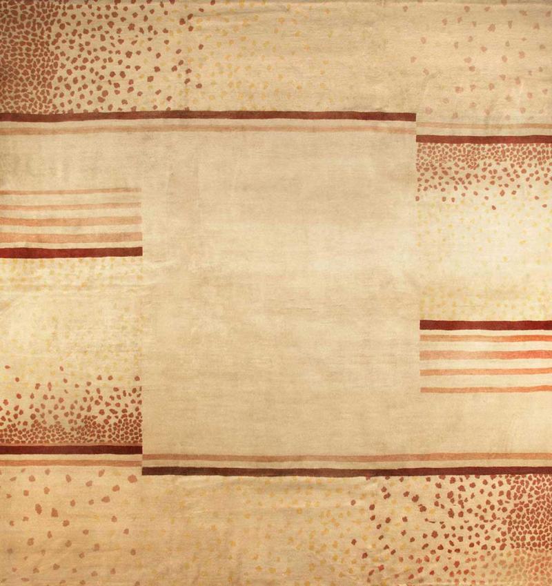 D I M Decoration Interieur Moderne c 1940 Original Wool Rug designed by D I M