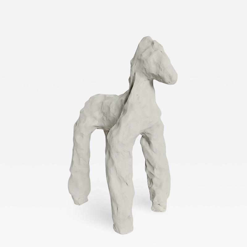 Dainche EQUO Raw clay sculpture