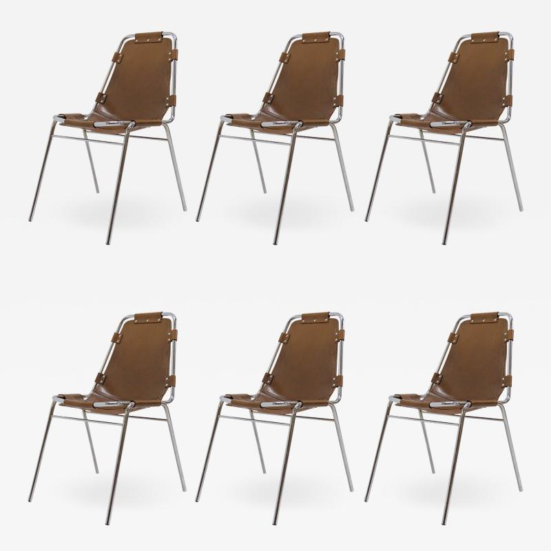 Dal Vera Les Arc Chairs Selected by Charlotte Perriand