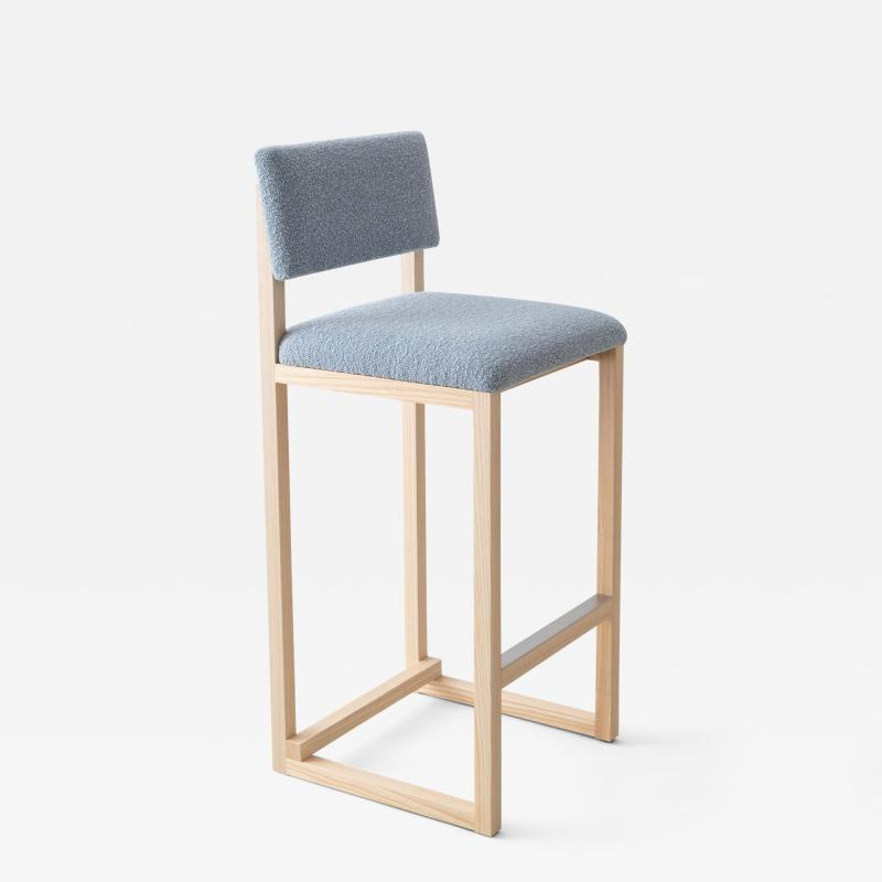 David Gaynor Design SQ Upholstered Bar Stool