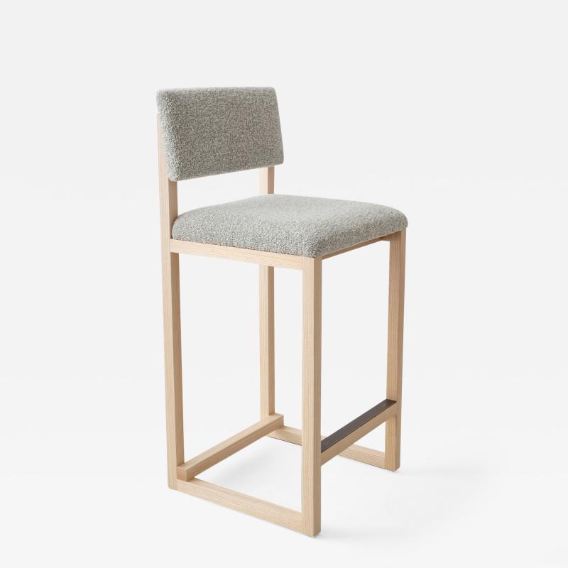 David Gaynor Design SQ Upholstered Counter Stool