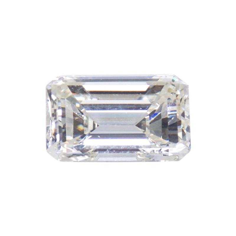 De Beers GIA Certified Emerald Cut Diamond 4 08 Carat