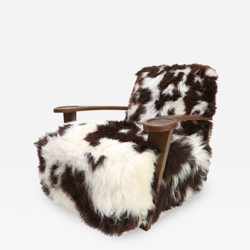De Coene De Coene Sheepskin Arm Chair