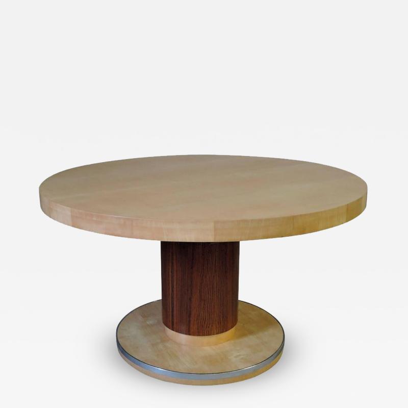 De Coene Fine Art Deco Round Dining Table by De Coene