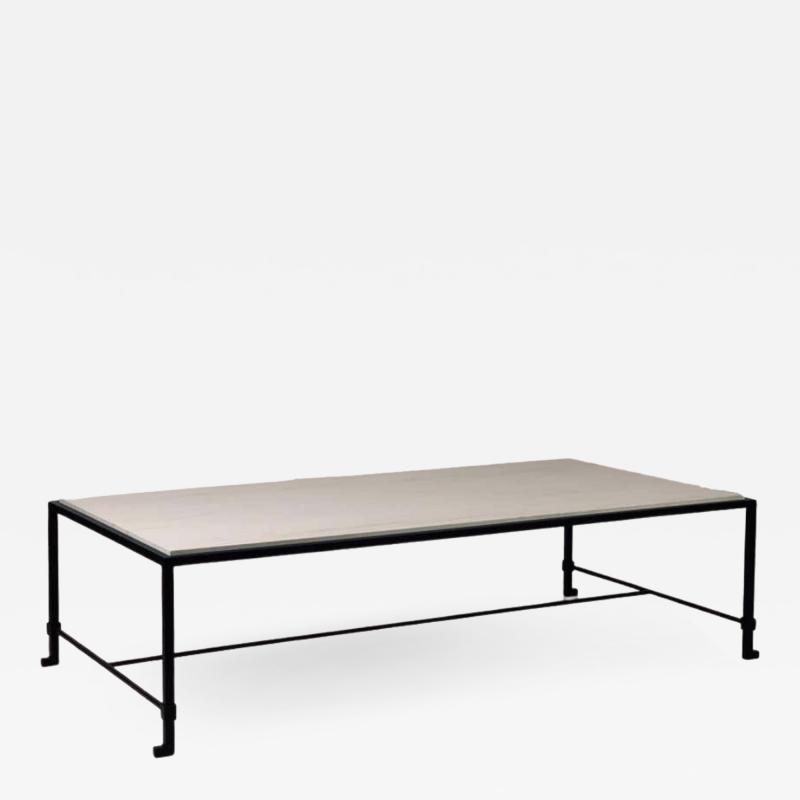 Design Fr res Chic Large Diagramme Limestone Coffee Table by Design Fr res