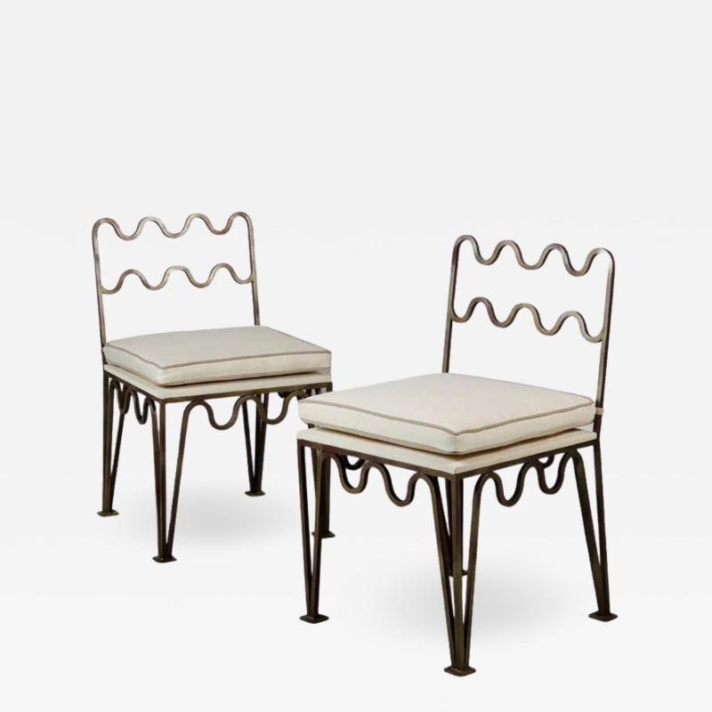 Design Fr res Pair of Chic M andre Side Chairs by Design Fr res
