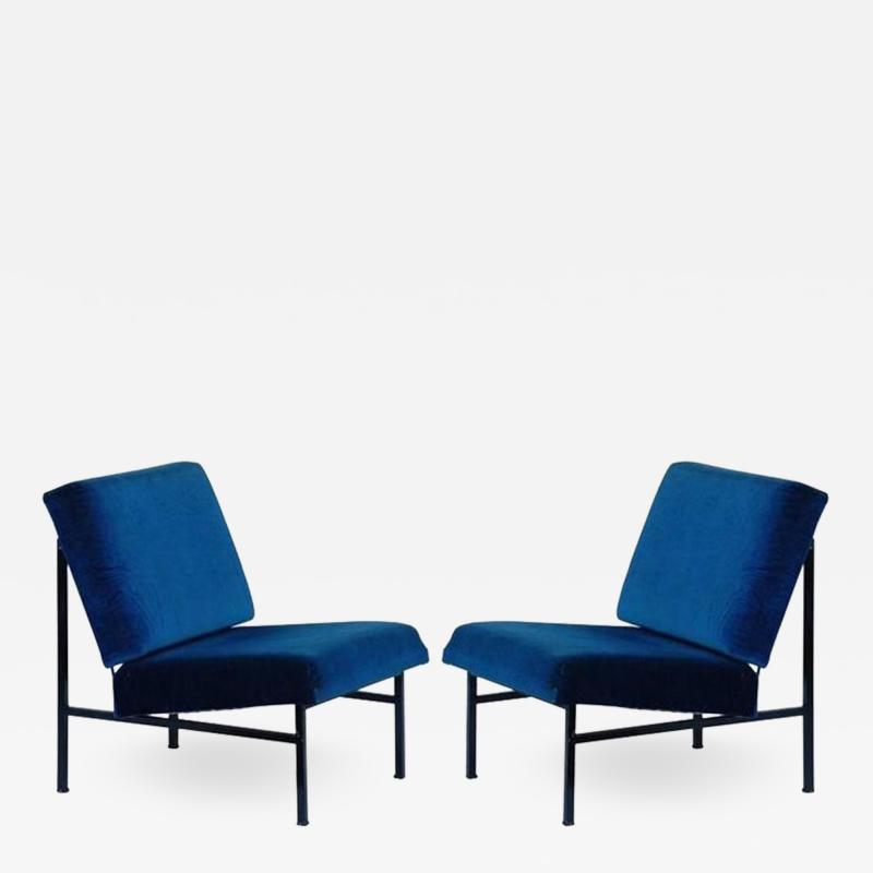 Design Fr res Pair of D clive Slipper Chairs