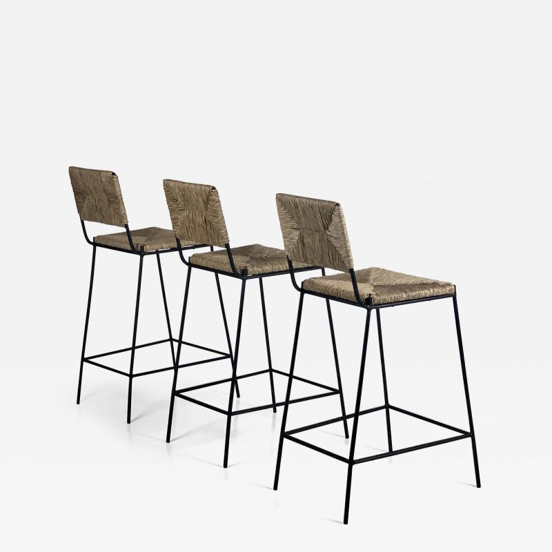 Design Fr res Set of 3 Campagne Counter Height Stools by Design Fr res